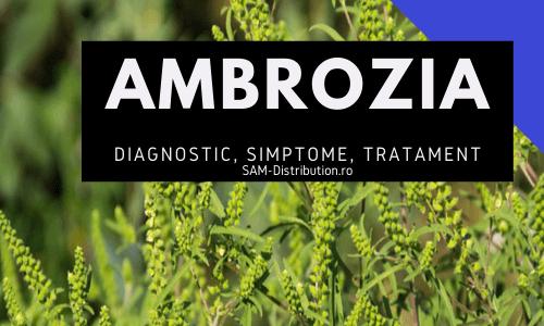 Alergia la ambrozie: diagnostic, simptome si metode de tratament