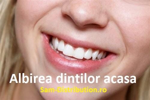 Cele mai eficiente metode de albire a dintilor acasa