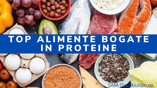 Top alimente bogate in proteine animale si vegetale