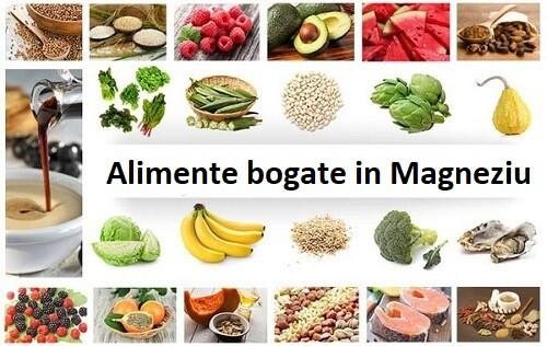 Top alimente bogate in magneziu - cele mai bune surse