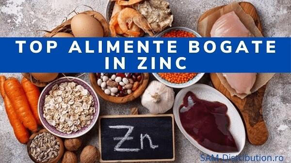 Top alimente bogate in zinc