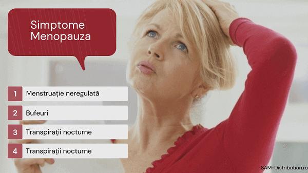 Simptome menopauza - Vezi care sunt