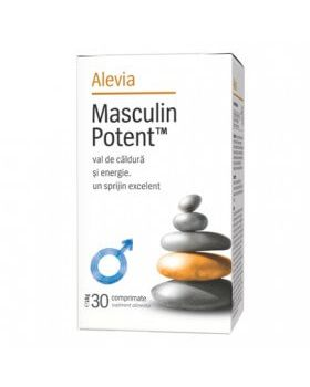 Masculin Potent, 30 comprimate, Alevia
