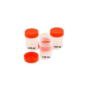 Recipient urocultura, 120ml (recoltarea probelor de urina)