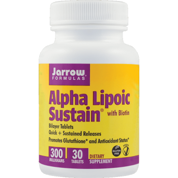 Alpha Lipolic Sustain 300mg, 30 tablete, Secom