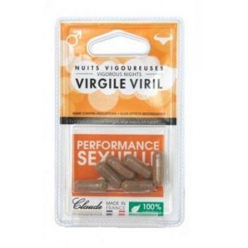 Virgile Viril, 6 capsule, Claude Aphrodisiacs