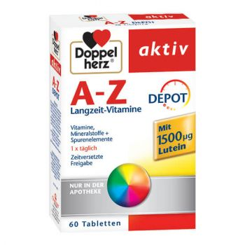A-Z Depot cu Luteina, 60 comprimate