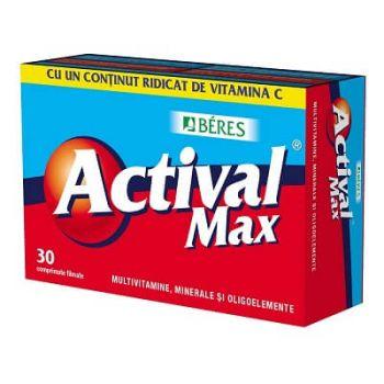 Actival Max, 30 comprimate, Beres Pharmaceuticals