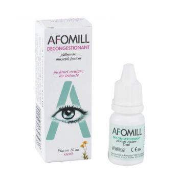 Afomill decongestionant picaturi oculare, 10 ml, Af United (verde)