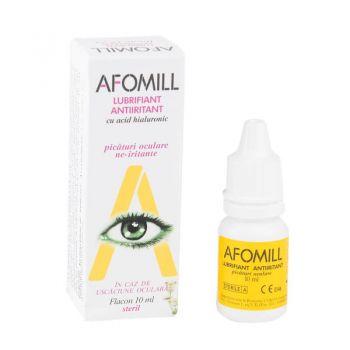 Afomill lubrifiant picaturi oculare, 10 ml, Af United (galben)