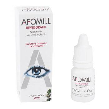 Afomill revigorant picaturi oculare, 10 ml, Af United (gri)