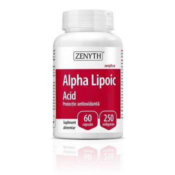 Alpha Lipoic Acid, 60 cps, Zenyth
