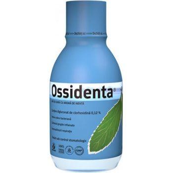 Ossidenta, Apa de gura cu aroma de menta, 250 ml, Biofarm