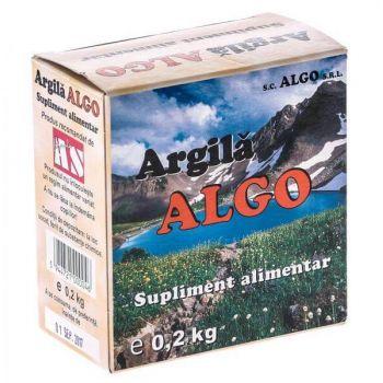 Argila pulbere, 200 g, Algo