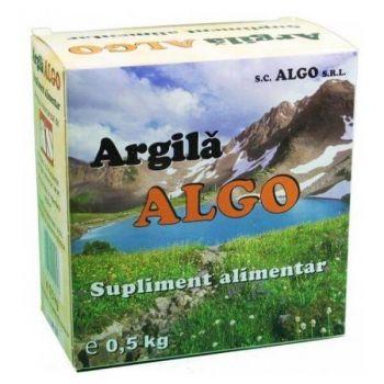 Argila pulbere, 500 g, Algo