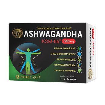 Ashwagandha KSM-66, 30 capsule, Cosmopharm