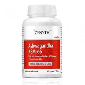 Ashwagandha KSM-66, 60 capsule, Zenyth