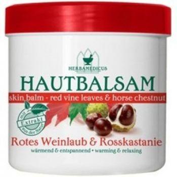 Balsam cu frunze rosii de vita de vie si castan salbatic, 250 ml