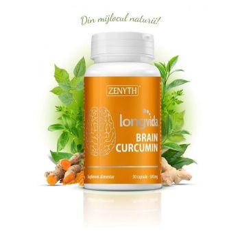 Brain Curcumin Longvida, 30 capsule, Zenyth