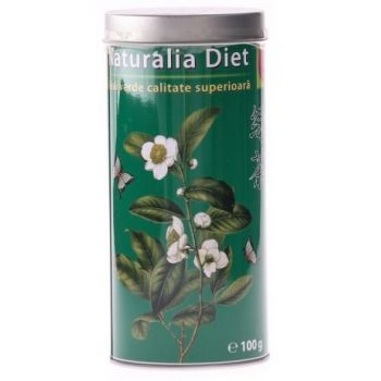 Ceai Verde cutie metalica, 100g, Naturalia Diet
