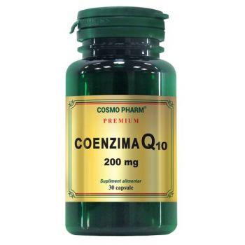 Coenzima Q10 200 mg, 30 capsule, Cosmopharm