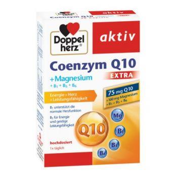 Coenzima Q10 Extra + Magneziu, 30 capsule, Doppelherz
