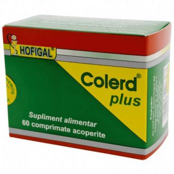 Colerd plus, 60 comprimate, Hofigal