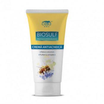 Crema Antiacneica Biosulf, 50 ml, Ceta