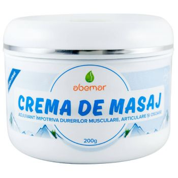 Crema de masaj, 200 g, Abemar