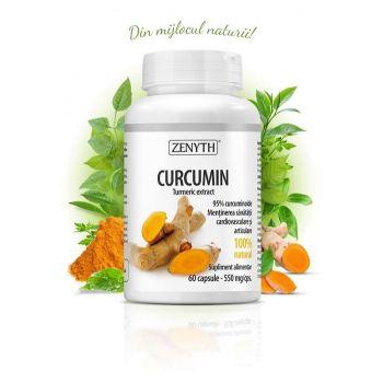 Curcumin, 60 capsule, Zenyth