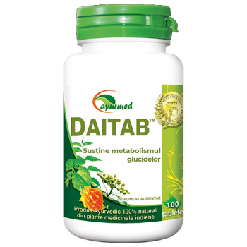 Daitab, 100 tablete, Ayurmed