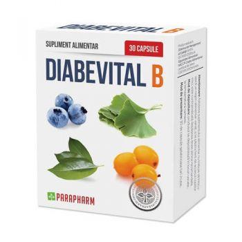 Diabevital B, 30 capsule, Parapharm