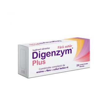 Digenzym Plus, 20 tablete, Labormed