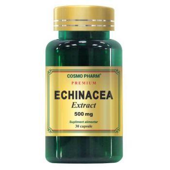 Echinacea Extract 500mg, 60 capsule Premium, Cosmopharm
