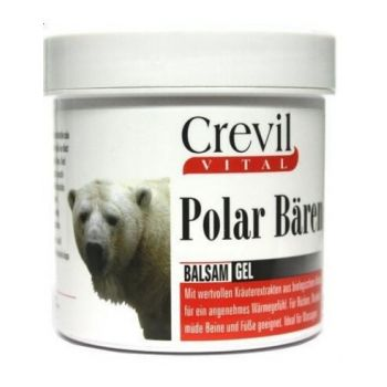 Forta ursului polar balsam gel, 250 ml, Crevil Cosmetics