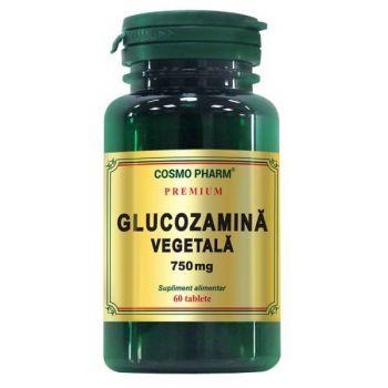 Glucozamina Vegetala 750 mg, 60 tablete Premium, Cosmopharm