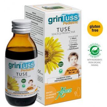 GrinTuss Pediatric - sirop de tuse pentru copii, 180g, Aboca