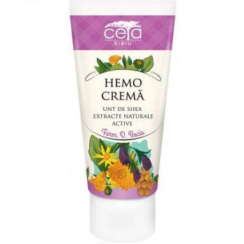 Hemo crema, cu extracte naturale active, 50 ml, Ceta Sibiu