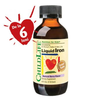 Liquid Iron, 118.50ml, Secom (Childlife Essentials)