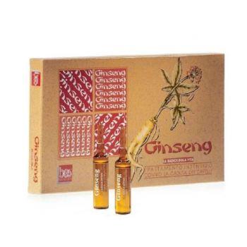 Lotiune Ginseng pentru Par, 12 fiole, Bes