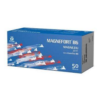 Magnefort B6, 50 drajeuri