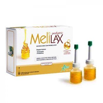 MeliLax Pediatric microclisme cu propolis, 6 bucati, Aboca