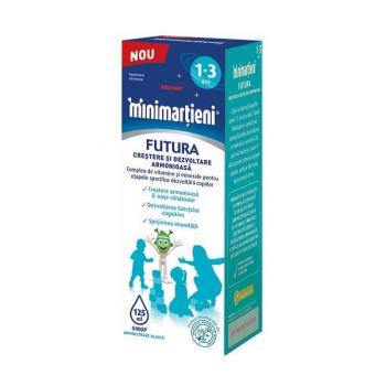 Minimartieni Futura, 1-3 ani, Walmark, 125 ml
