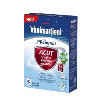 Minimartieni PROimun Acut 3+ ani, Walmark, 5 plicuri