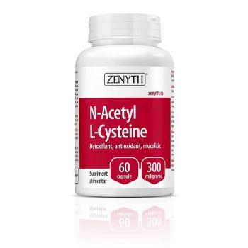 N-Acetyl L-Cysteine, 60 cps, Zenyth