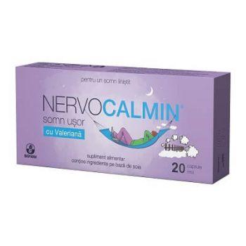 Nervocalmin cu valeriana, 20 capsule, Biofarm