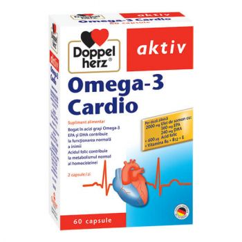Omega-3 Cardio, 60 capsule