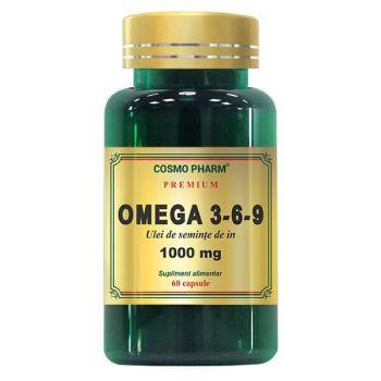 Omega 3-6-9 Complex 1206 mg, 60 capsule Premium