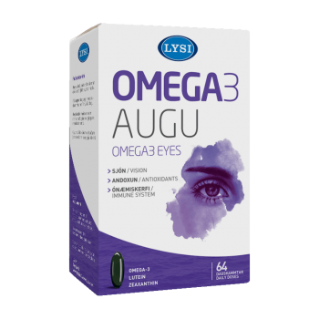 Omega 3 - Ochi sanatosi, 64 capsule, Lysi