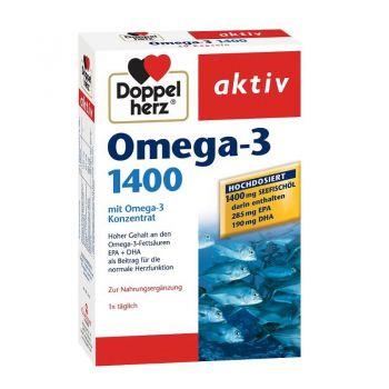 Omega 3 1400, 30 capsule, Doppelherz